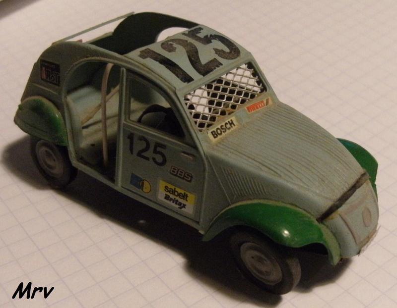 Maquette Heller au 1/43 éme-  2CV type A 1947 Hel_ds11
