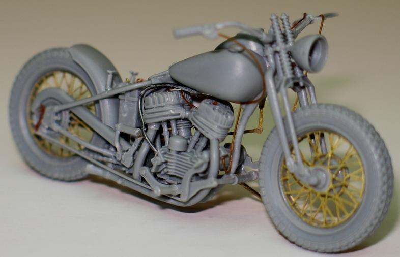 Harley US WW2 et ..... Bobber :P   Miniart 1/35 64370110