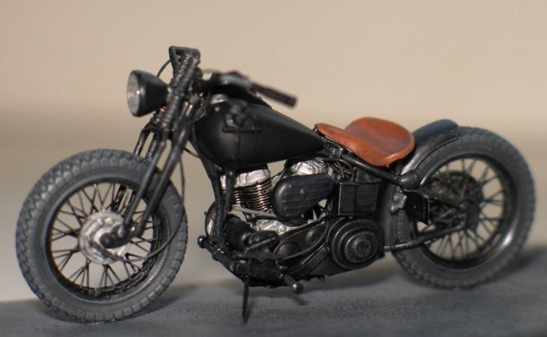 Harley US WW2 et ..... Bobber :P   Miniart 1/35 66734110