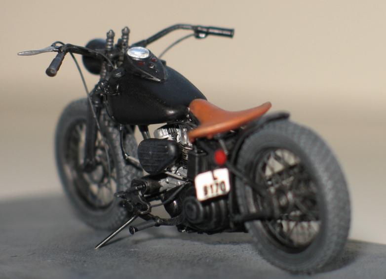 Harley US WW2 et ..... Bobber :P   Miniart 1/35 67864210