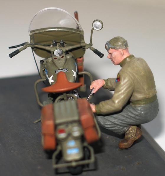 Harley US WW2 et ..... Bobber :P   Miniart 1/35 72997110