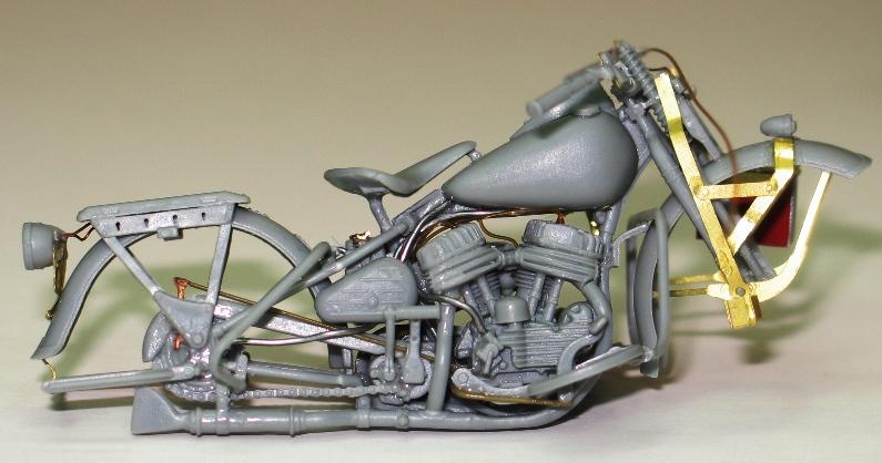 Harley US WW2 et ..... Bobber :P   Miniart 1/35 74327610