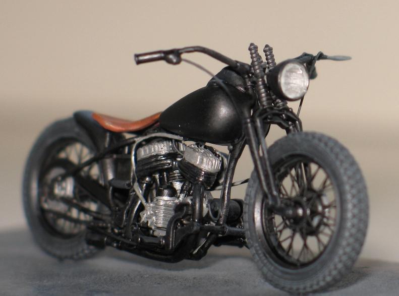 Harley US WW2 et ..... Bobber :P   Miniart 1/35 81717310
