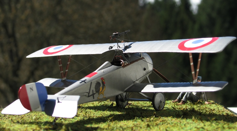 "Nieuport Ni-17 Marius Ambrogi  Eduard 1/48 ""Profipack"" Img_0086"