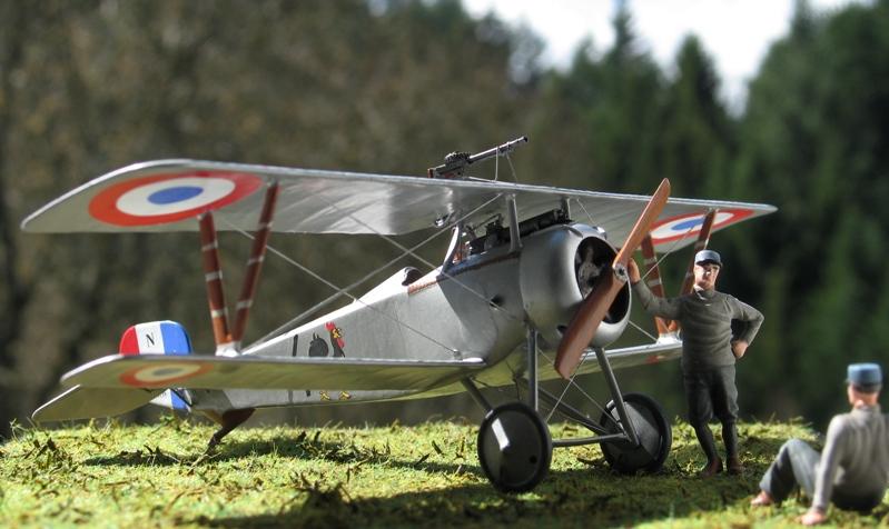 "Nieuport Ni-17 Marius Ambrogi  Eduard 1/48 ""Profipack"" Img_0090"