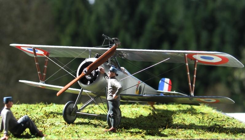 "Nieuport Ni-17 Marius Ambrogi  Eduard 1/48 ""Profipack"" Img_0091"