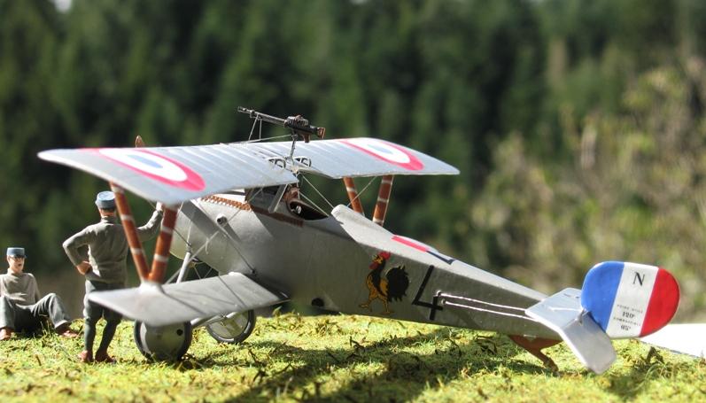 "Nieuport Ni-17 Marius Ambrogi  Eduard 1/48 ""Profipack"" Img_0092"