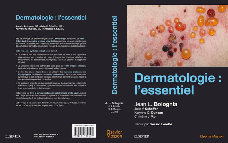 Dermatologie : l'essentiel (Date de Parution 03/01/2018) Bologn10