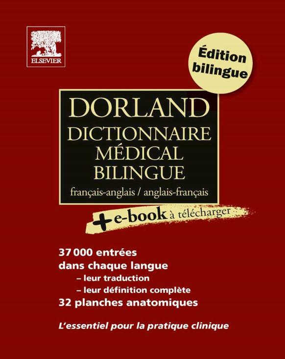 exclusif : Dorland Dictionnaire médical bilingue Dorlan10