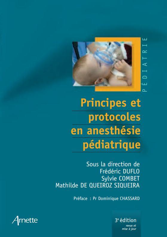 Principes et protocoles en anesthésie pédiatrique (3e édition)  Princi10