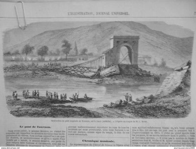 Vieux papiers et CPA : les ponts suspendus de Marc Seguin 060_0010