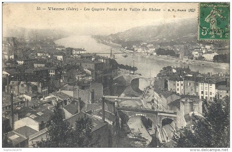 Vieux papiers et CPA : les ponts suspendus de Marc Seguin 066_0010