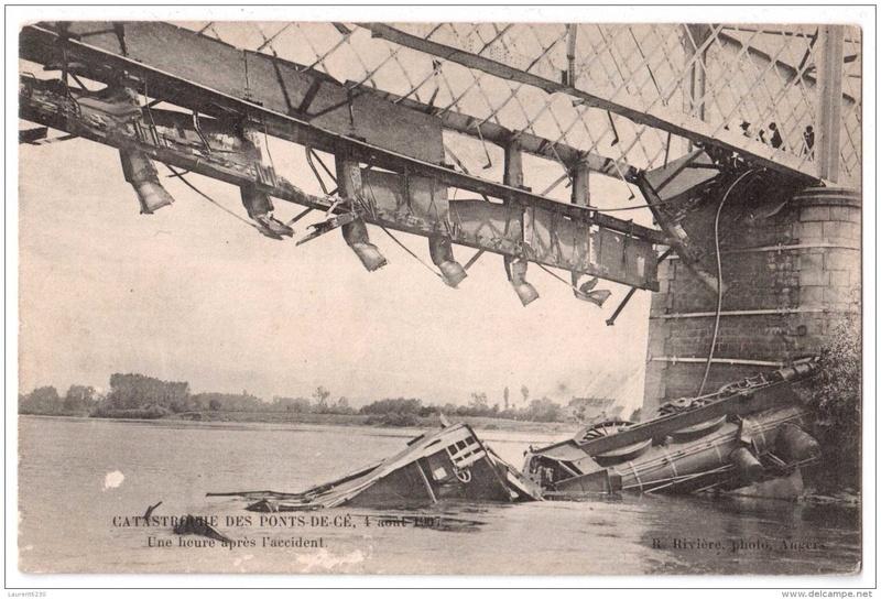 CPA Ponts et catastrophes angevines 1850, 1907, 1911 072_0010