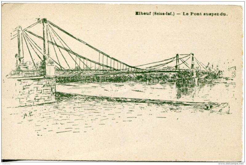 Vieux papiers et CPA : les ponts suspendus de Marc Seguin 086_0010