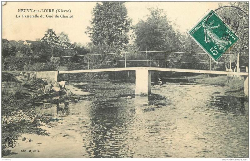CPA avant les ponts, les gués 113_0010