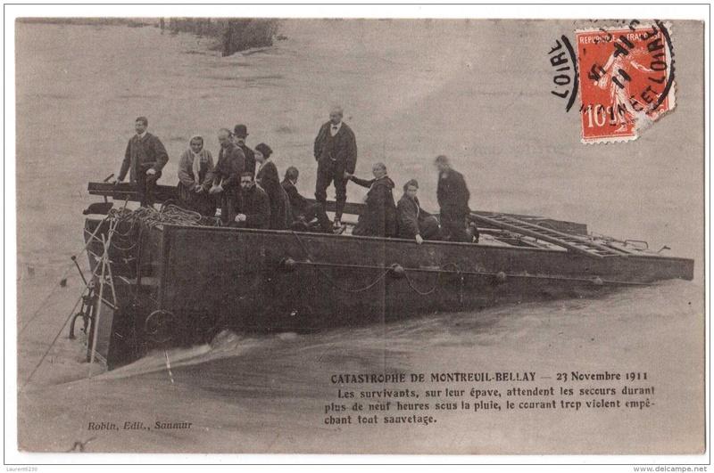CPA Ponts et catastrophes angevines 1850, 1907, 1911 186_0010