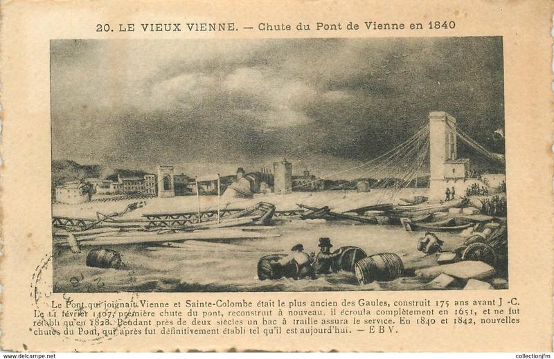 Vieux papiers et CPA : les ponts suspendus de Marc Seguin 266_0010