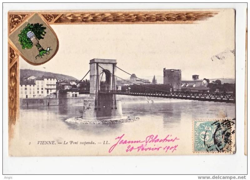Vieux papiers et CPA : les ponts suspendus de Marc Seguin 309_0010