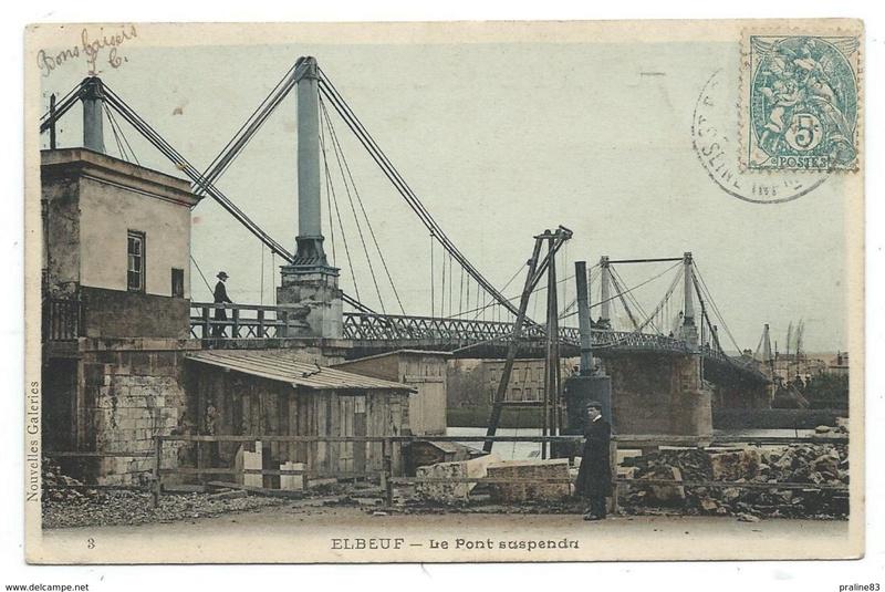 Vieux papiers et CPA : les ponts suspendus de Marc Seguin 329_0010