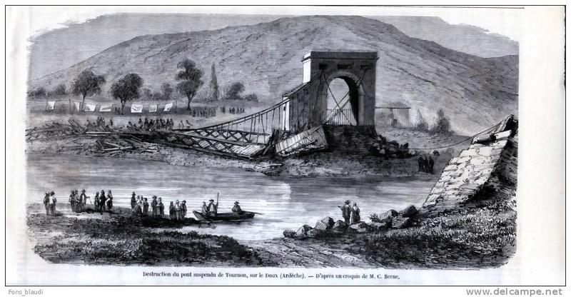Vieux papiers et CPA : les ponts suspendus de Marc Seguin 469_0010