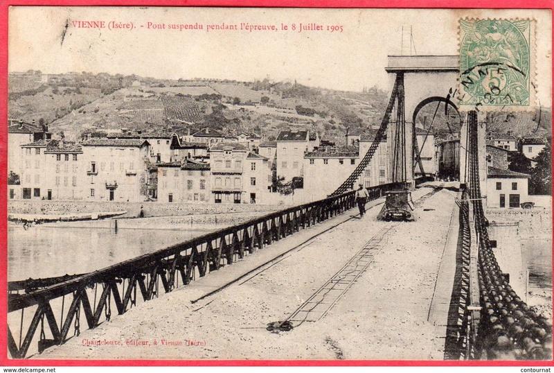 Vieux papiers et CPA : les ponts suspendus de Marc Seguin 574_0010