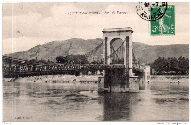 Vieux papiers et CPA : les ponts suspendus de Marc Seguin 627_0010