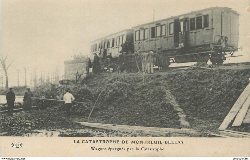 CPA Ponts et catastrophes angevines 1850, 1907, 1911 634_0010