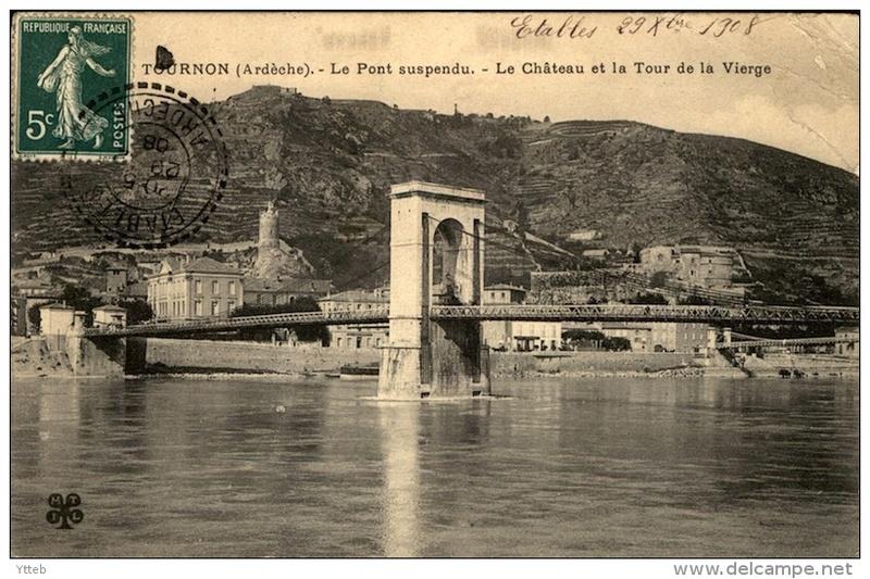 Vieux papiers et CPA : les ponts suspendus de Marc Seguin 648_0010