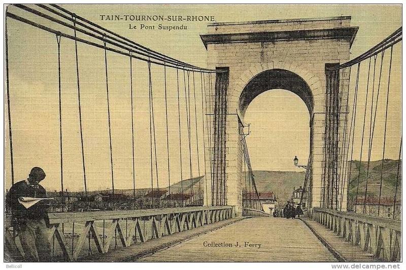 Vieux papiers et CPA : les ponts suspendus de Marc Seguin 693_0010