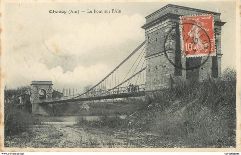 Vieux papiers et CPA : les ponts suspendus de Marc Seguin 702_0010