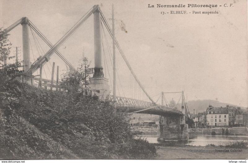 Vieux papiers et CPA : les ponts suspendus de Marc Seguin 915_0010