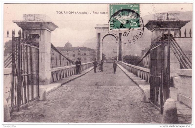 Vieux papiers et CPA : les ponts suspendus de Marc Seguin 957_0010