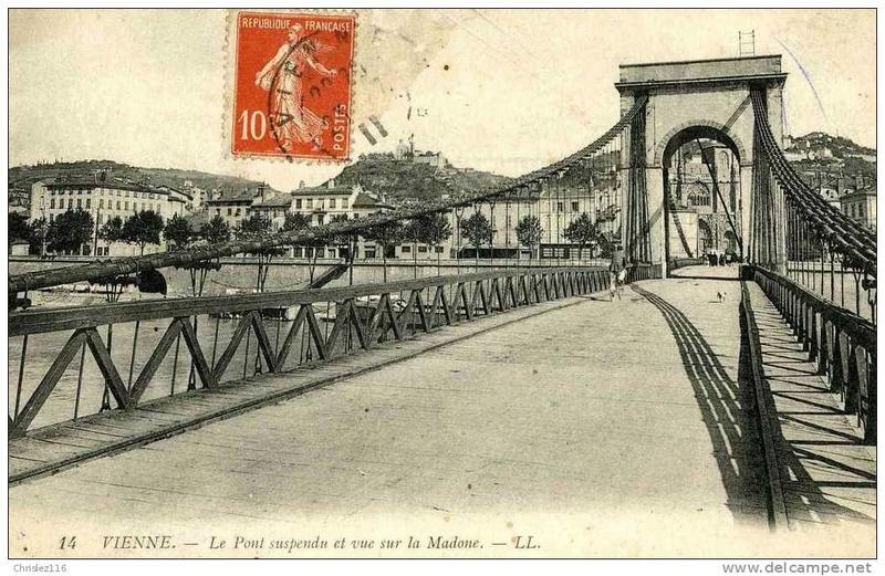Vieux papiers et CPA : les ponts suspendus de Marc Seguin 959_0010
