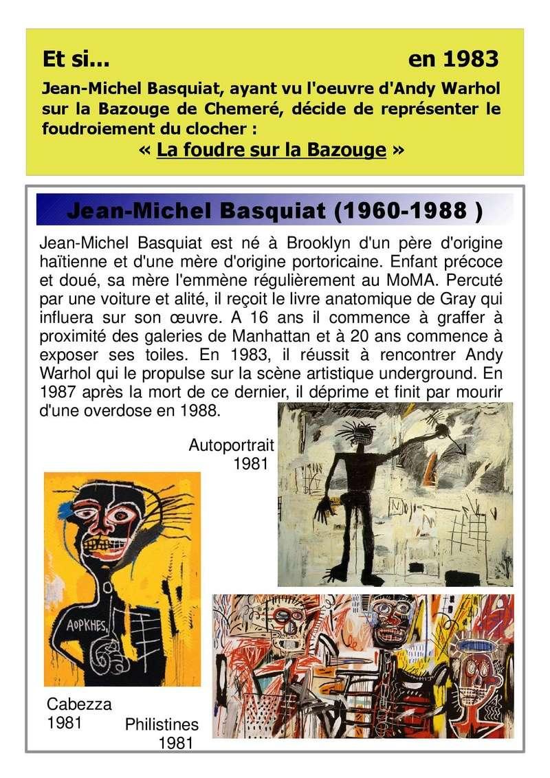 Et si Van Gogh était venu lui-aussi à La Bazouge? (Collages et pastiches) _1983_11