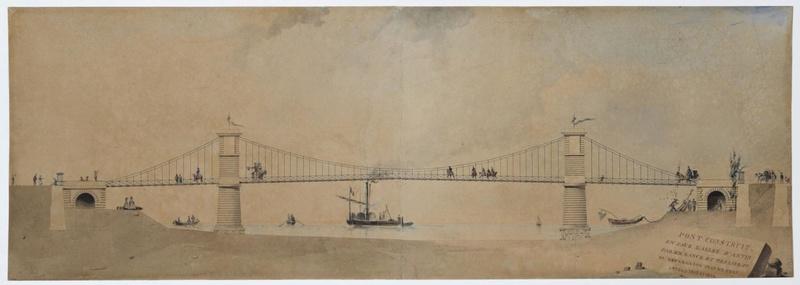Vieux papiers et CPA : les ponts suspendus de Marc Seguin Ancien10