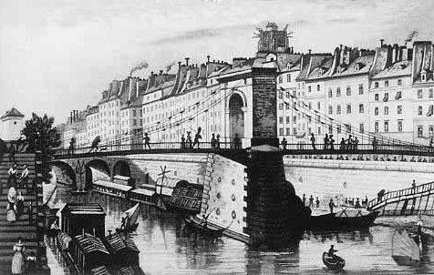 Vieux papiers et CPA : les ponts suspendus de Marc Seguin Arcole11