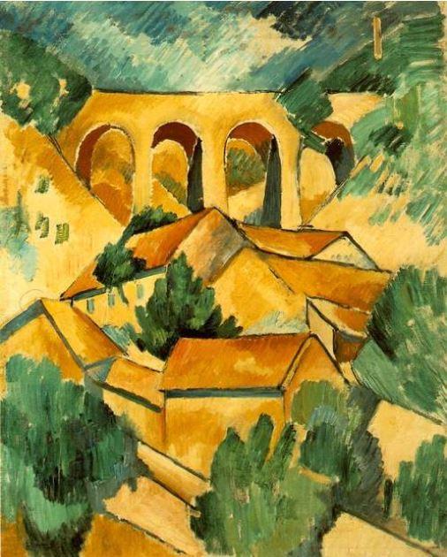 Et si Van Gogh était venu lui-aussi à La Bazouge? (Collages et pastiches) Braque10