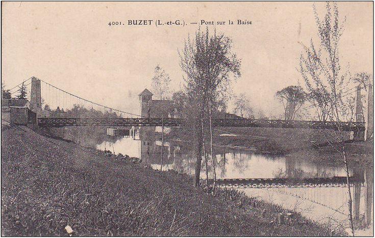 Vieux papiers et CPA : les ponts suspendus de Marc Seguin Buzet_11