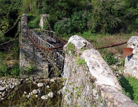 Vieux papiers et CPA : les ponts suspendus de Marc Seguin Cance010