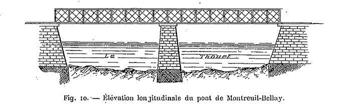 CPA Ponts et catastrophes angevines 1850, 1907, 1911 Catast10