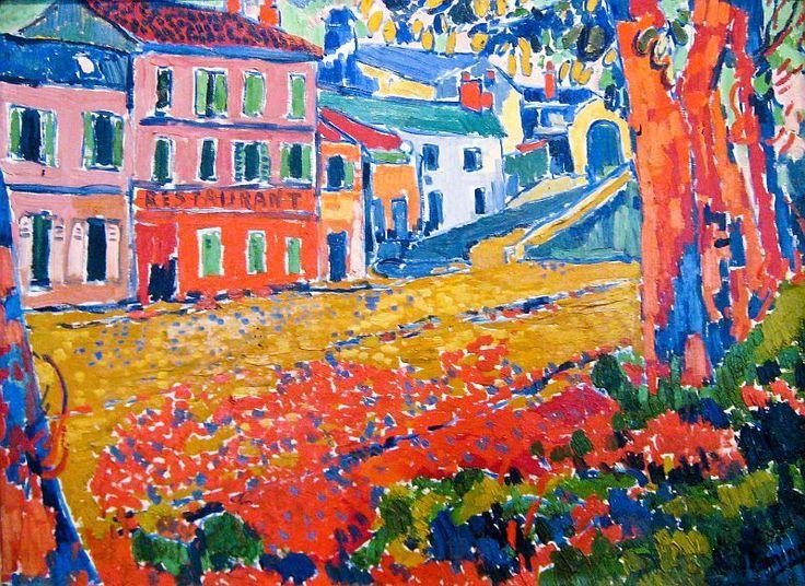 Et si Van Gogh était venu lui-aussi à La Bazouge? (Collages et pastiches) Cf8e9010