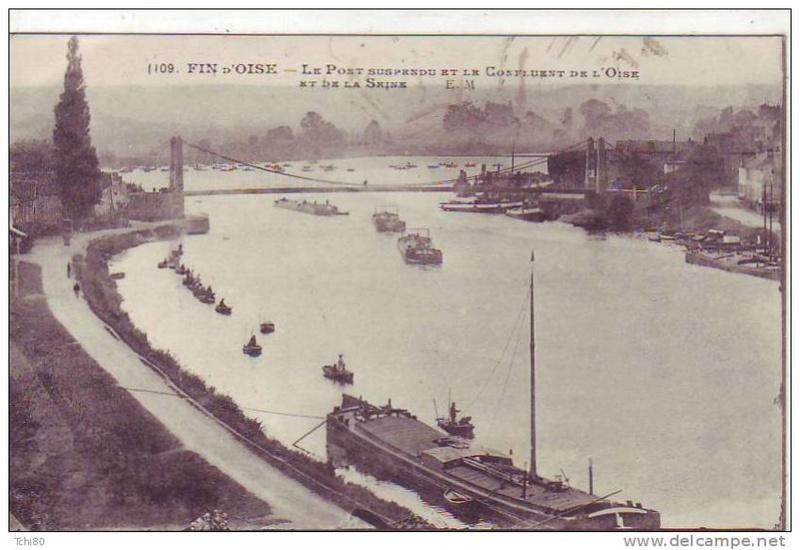 Vieux papiers et CPA : les ponts suspendus de Marc Seguin Confla10