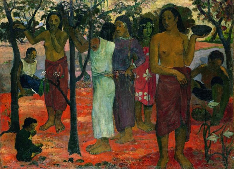 Expo Gauguin l'alchimiste au Grand Palais le 13 novembre 2017 Gaugui11