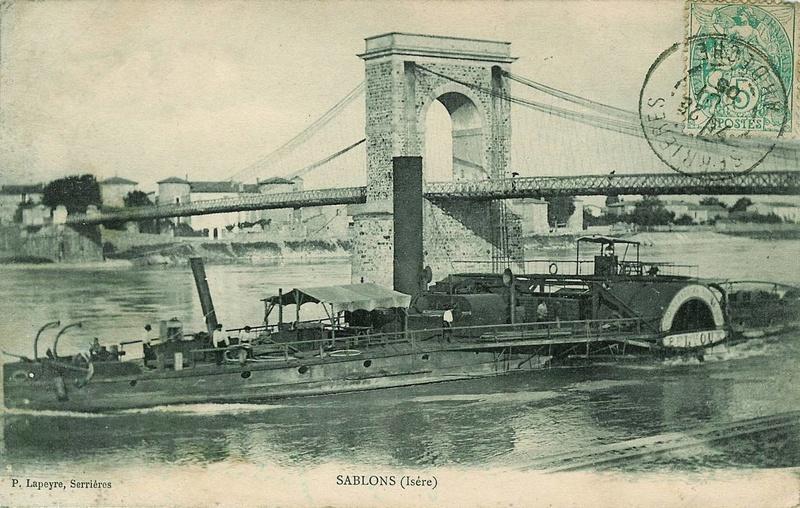 Vieux papiers et CPA : les ponts suspendus de Marc Seguin Hrbatp10