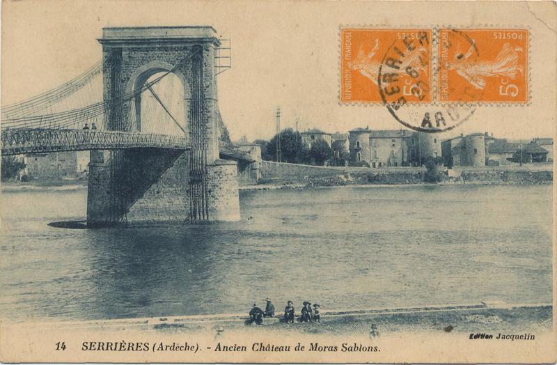 Vieux papiers et CPA : les ponts suspendus de Marc Seguin Hrpont10