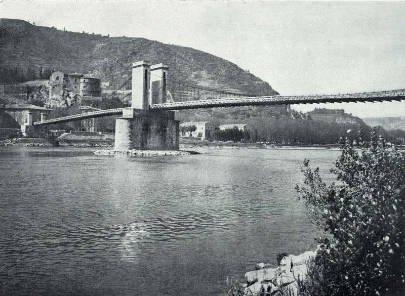 Vieux papiers et CPA : les ponts suspendus de Marc Seguin Hrpt2t10