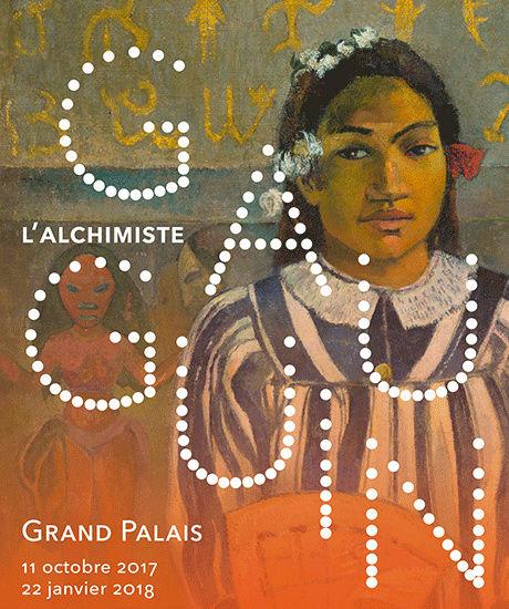 Expo Gauguin l'alchimiste au Grand Palais le 13 novembre 2017 Illusp10