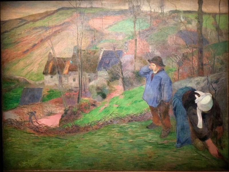 Expo Gauguin l'alchimiste au Grand Palais le 13 novembre 2017 Img_1812