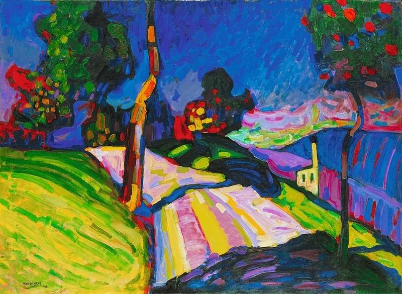 Et si Van Gogh était venu lui-aussi à La Bazouge? (Collages et pastiches) Kandin10