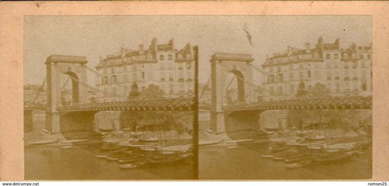 Vieux papiers et CPA : les ponts suspendus de Marc Seguin Louisp12